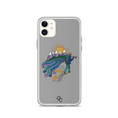 """Hiker"" Phone Case - College Collections Art"