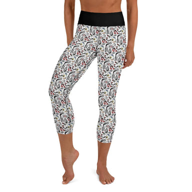 """Pirates Life"" Leggings - College Collections Art"