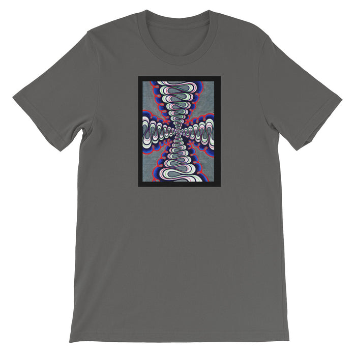 """Untitled"" Short-Sleeve Unisex T-Shirt - College Collections Art"