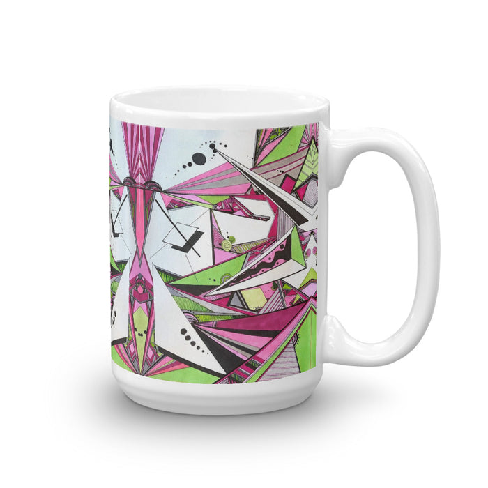 """Geo Therapy Five"" Mug - College Collections Art"