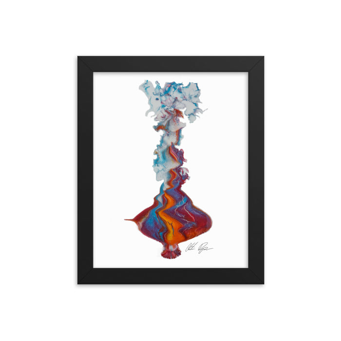 """Untitled 002"" Print Framed poster - College Collections Art"