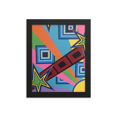"""New Wave"" Framed poster - College Collections Art"