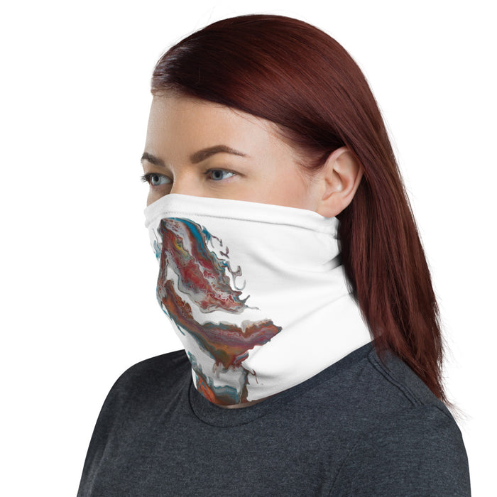 """Untitled 004"" Neck Gaiter - College Collections Art"