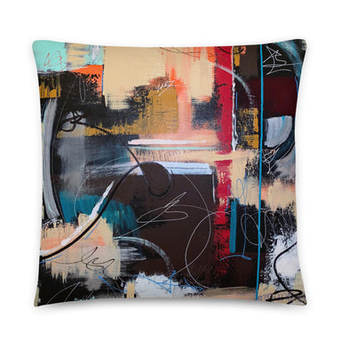 """Loosin It"" Basic Pillow - College Collections Art"
