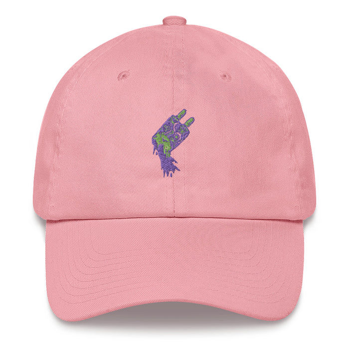 """Melting"" Dad hat - College Collections Art"