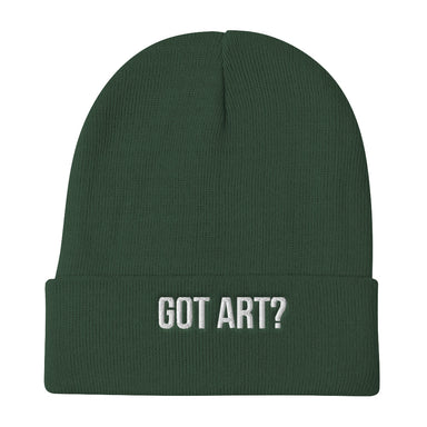 Got Art? Beanie - College Collections Art