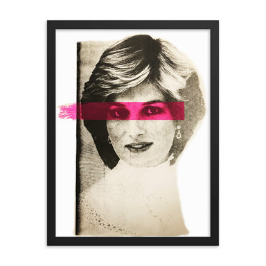"""Princess"" Framed poster - College Collections Art"