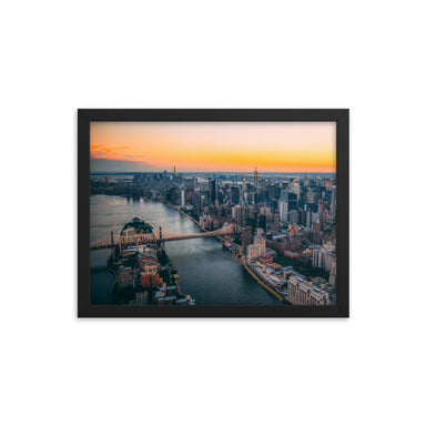 """Summer in the City"" Framed poster - College Collections Art"