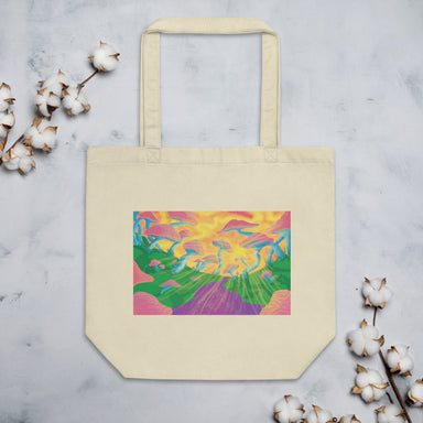 """Shroomin"" Eco Tote Bag - College Collections Art"