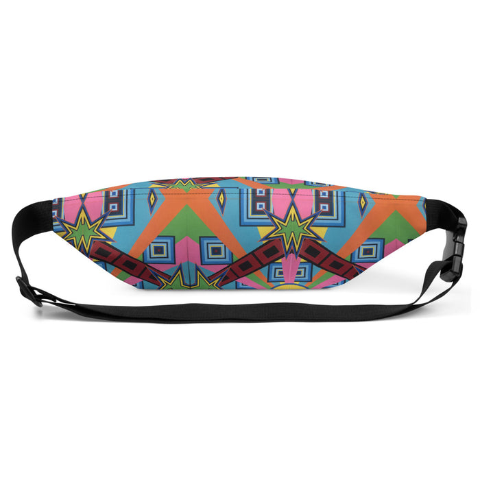 """New Wave"" Fanny Pack - College Collections Art"
