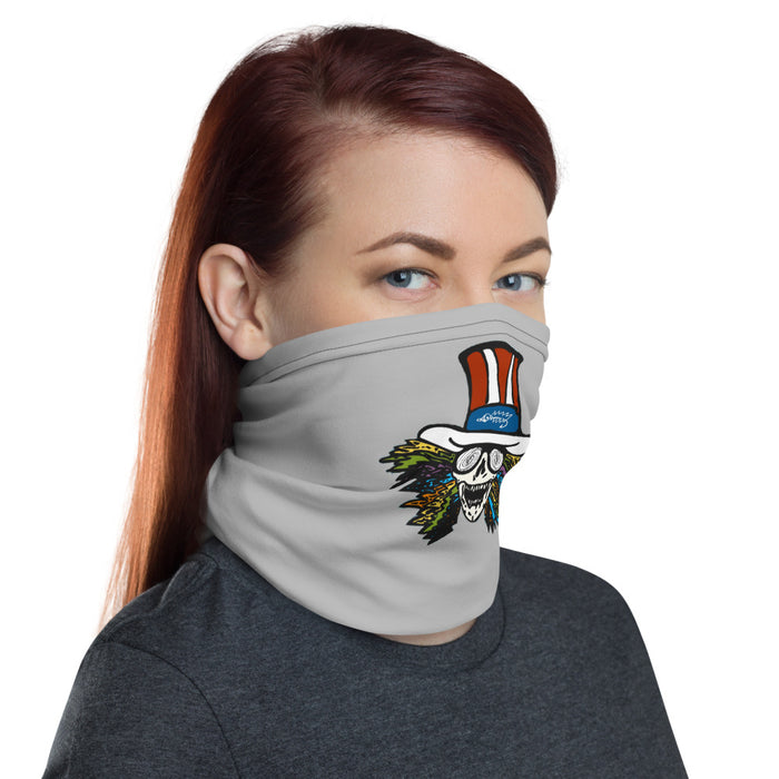 """Grateful Skull"" Neck Gaiter - College Collections Art"