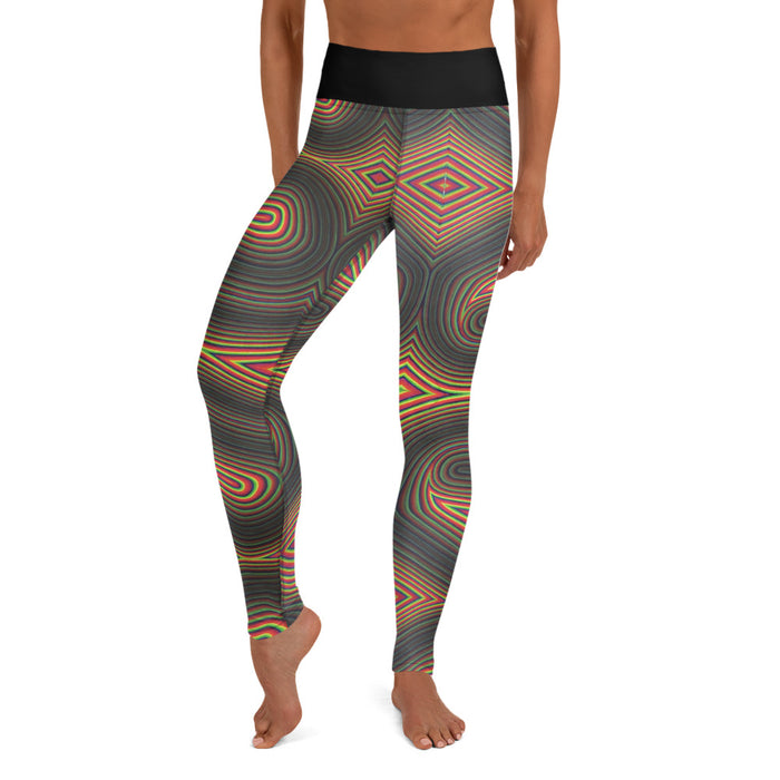 """Individuality"" Yoga Leggings - College Collections Art"