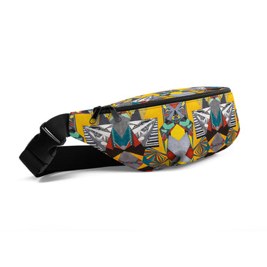 """Geo Therapy Two"" Fanny Pack - College Collections Art"