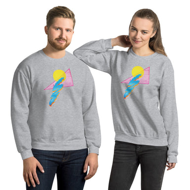 """Shapes"" Unisex Sweatshirt - College Collections Art"