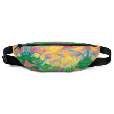 """Mushroom Mania"" Fanny Pack - College Collections Art"