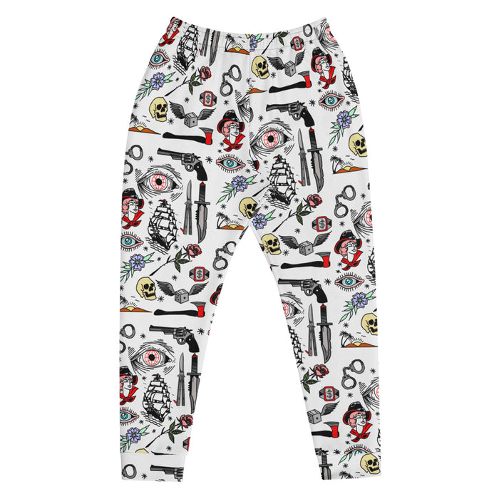 """Pirate Life"" Joggers - College Collections Art"