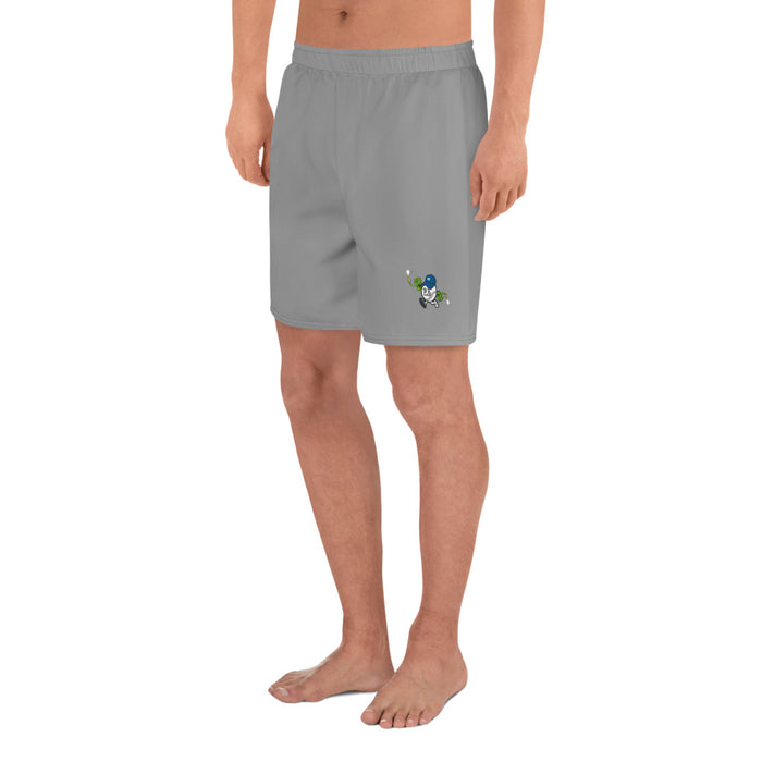 """Hoser Nation"" Men's Athletic Long Shorts - College Collections Art"