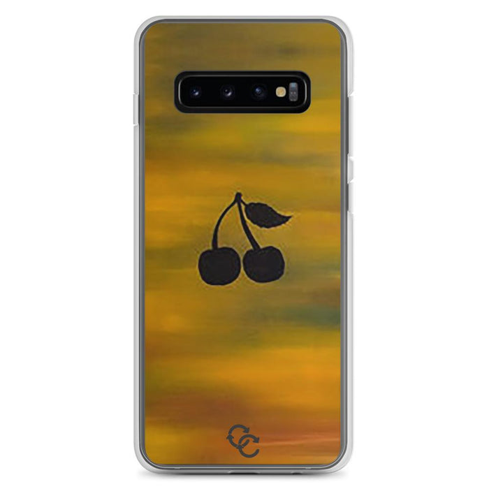 """Cherry"" Phone Case - College Collections Art"
