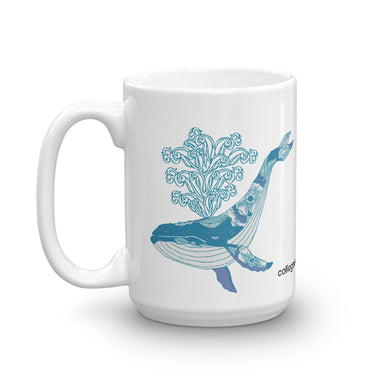 """Humpback"" Mug - College Collections Art"