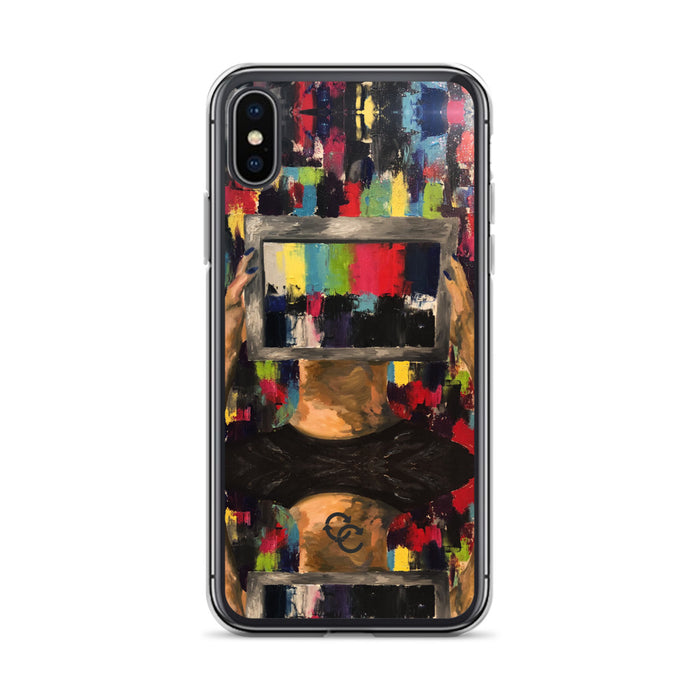 """Anxious Part 2"" Phone Case - College Collections Art"