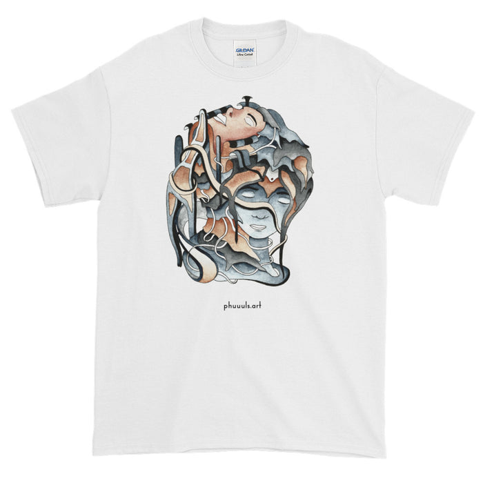 Wrapped in Thought Tee - College Collections Art