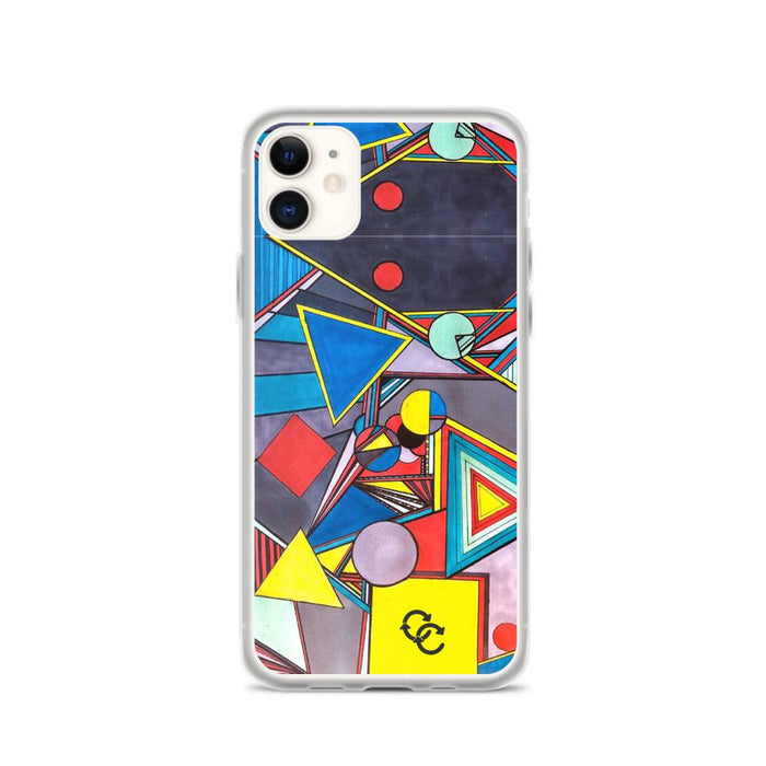 """Geo Therapy Eight"" Phone Case - College Collections Art"