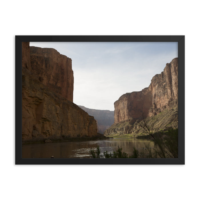 """Canyon Walls"" Framed poster - College Collections Art"