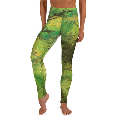"""Cadmium"" Yoga Leggings - College Collections Art"