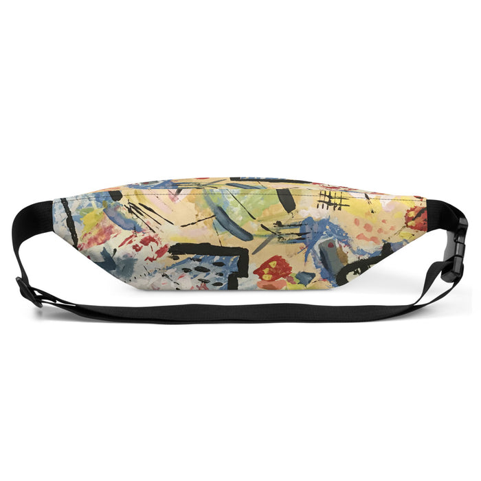 """Andy Warhol Recreation"" Fanny Pack - College Collections Art"