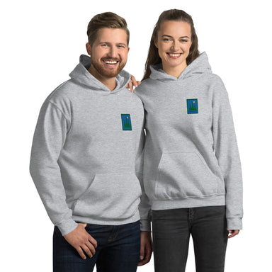 """Hike"" Unisex Hoodie - College Collections Art"