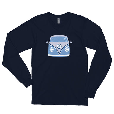 """70's Van"" Long sleeve t-shirt - College Collections Art"