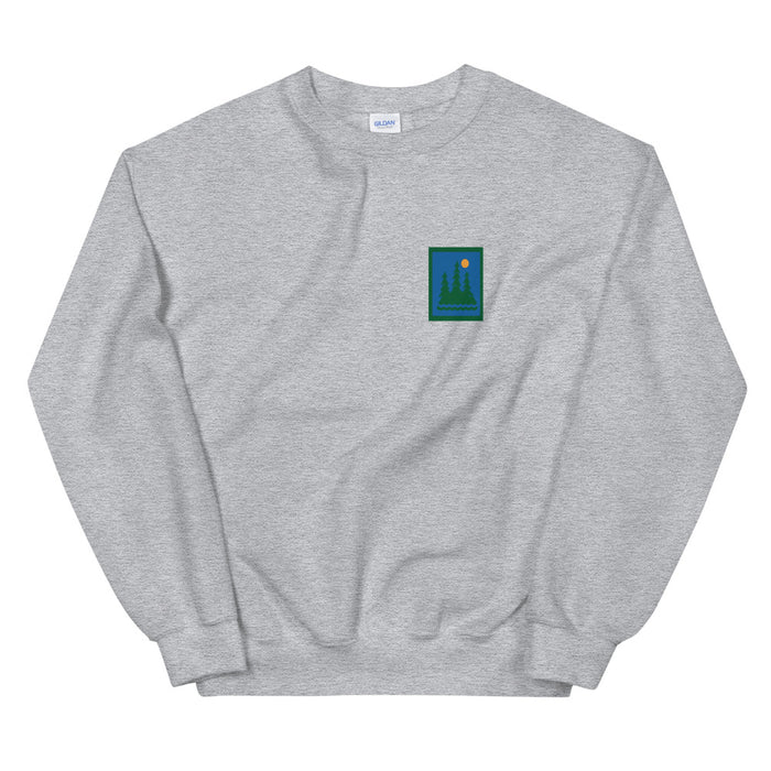 """Hike"" Unisex Sweatshirt - College Collections Art"