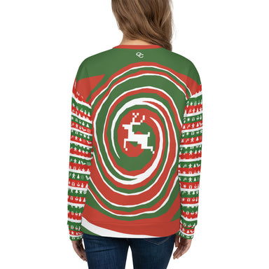 Holiday Vibe Unisex Crewneck Sweatshirt - College Collections Art