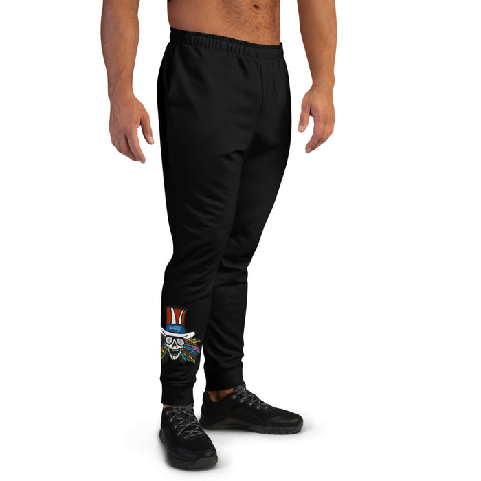 """Dead Skull"" Men's Joggers - College Collections Art"