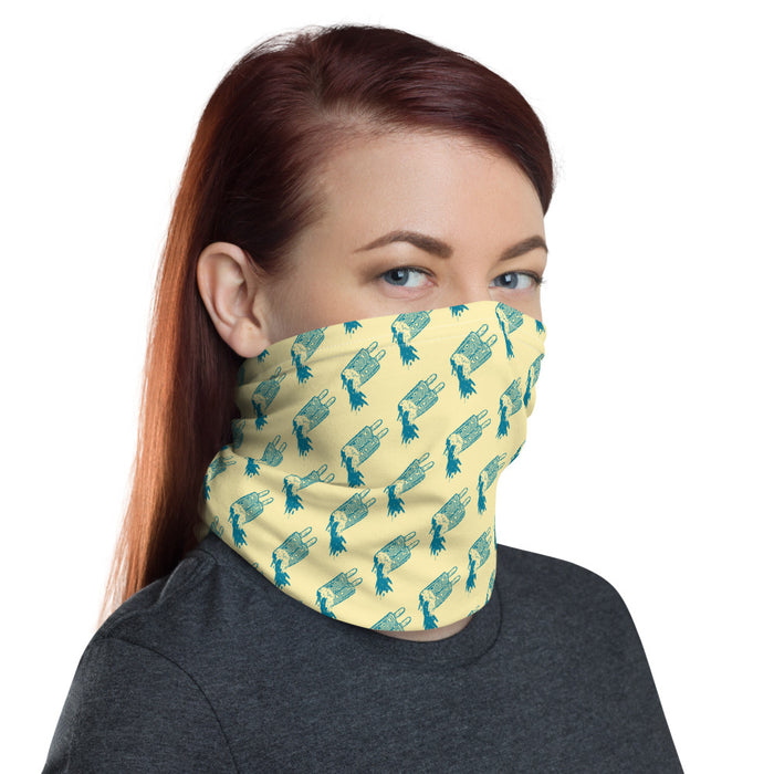 """Melting"" Neck Gaiter - College Collections Art"