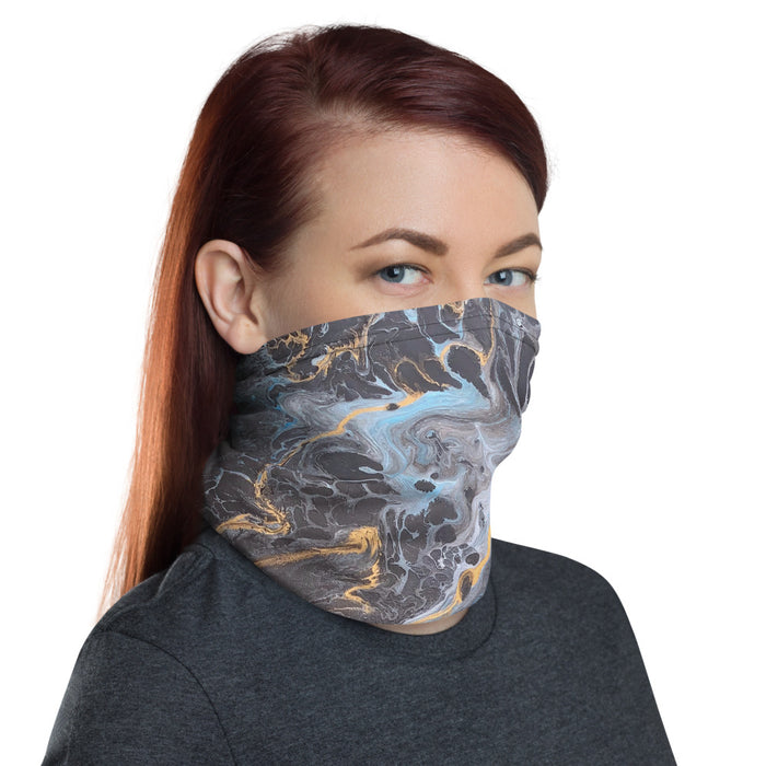 """Lagoon"" Neck Gaiter - College Collections Art"