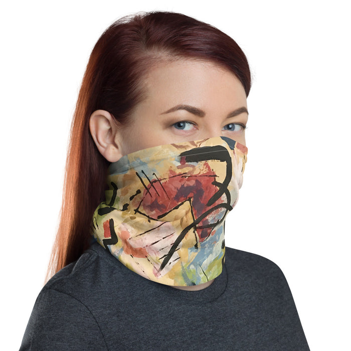 """Andy Warhol Recreation"" Neck Gaiter - College Collections Art"