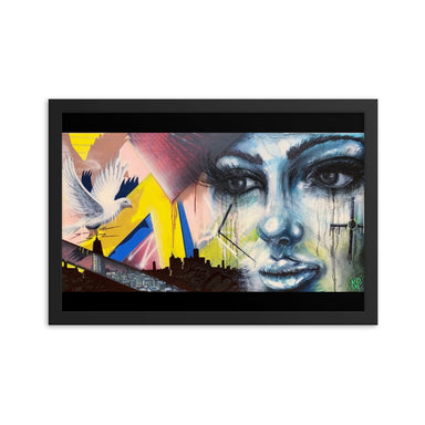 """Picks - 008""Framed poster - College Collections Art"
