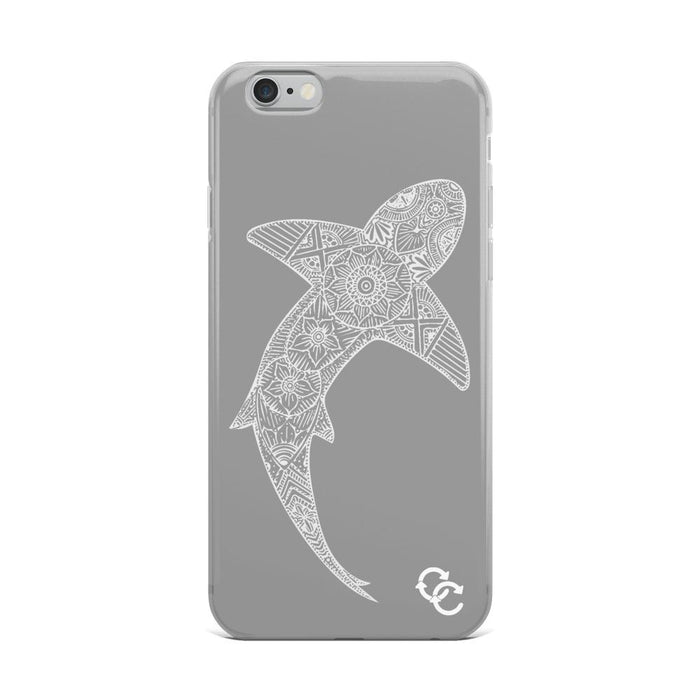 """Tribal Shark"" Phone Case - College Collections Art"
