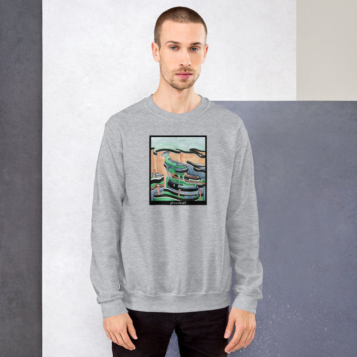 Unisex Sweatshirt - College Collections Art