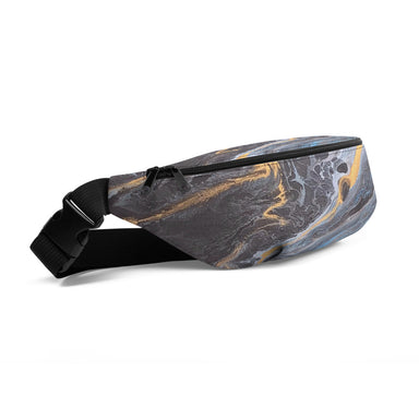 """Lagoon Gold"" Fanny Pack - College Collections Art"