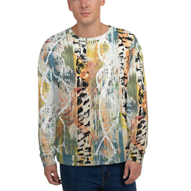 """Untitled DNA"" Unisex Sweatshirt - College Collections Art"