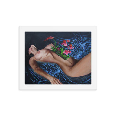 """Growth"" Print Framed Poster - College Collections Art"