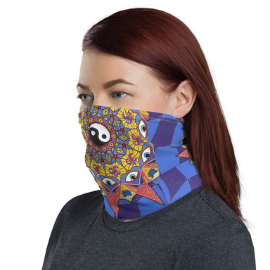 """Polarity"" Neck Gaiter - College Collections Art"