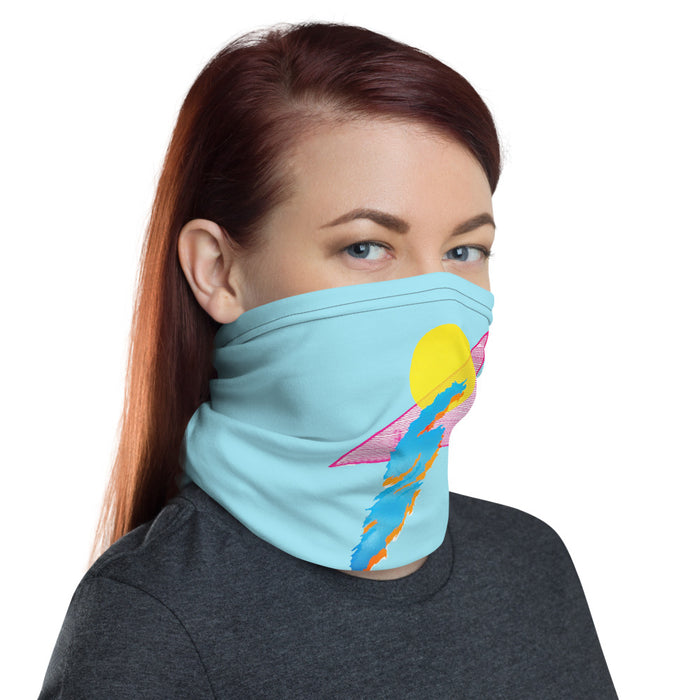 """Shapes"" Neck Gaiter - College Collections Art"