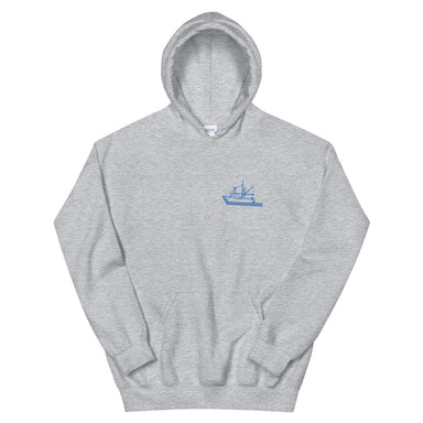 """Tuna"" Unisex Hoodie - College Collections Art"