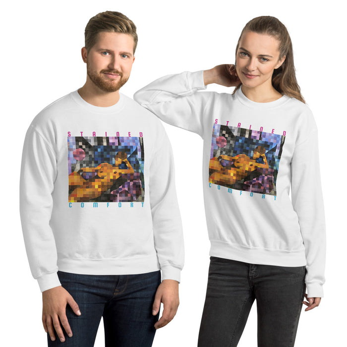 Stained Comfort Crewneck - College Collections Art