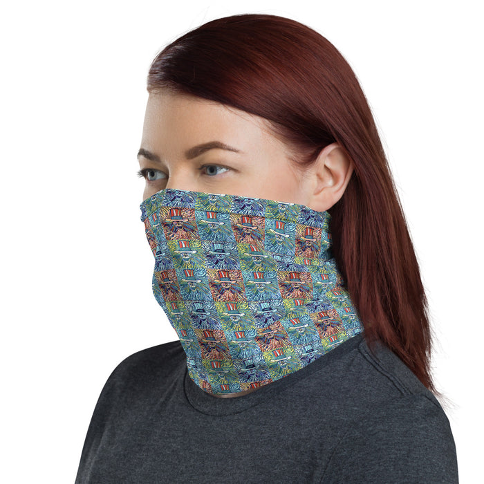 """Grateful Pop"" Neck Gaiter - College Collections Art"