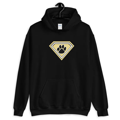 """Super Tiger"" Unisex Hoodie - College Collections Art"