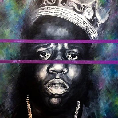 """Notorious"" Original Painting - College Collections Art"